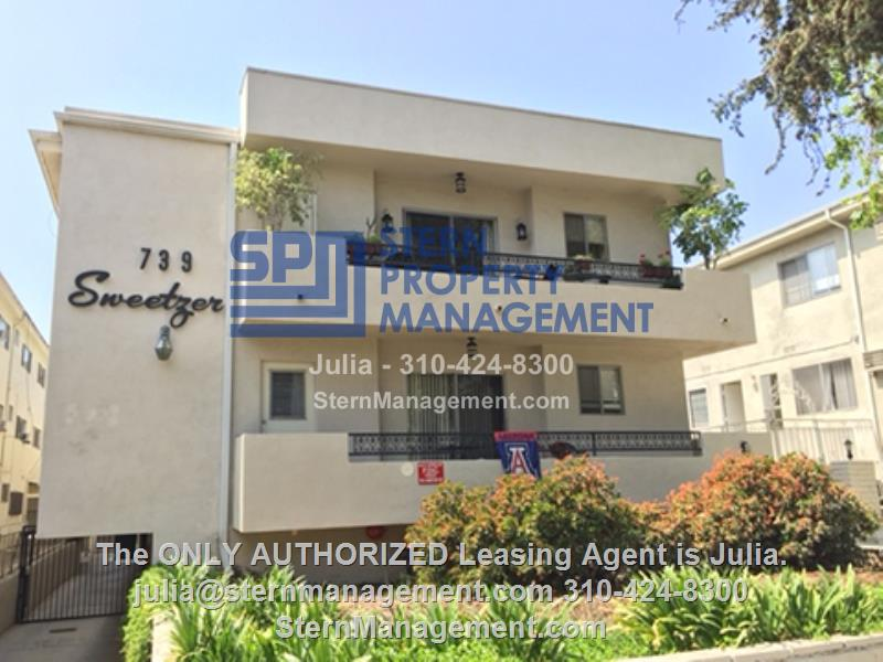 apartment for rent in west hollywood 739 n sweetzer ave 2 los